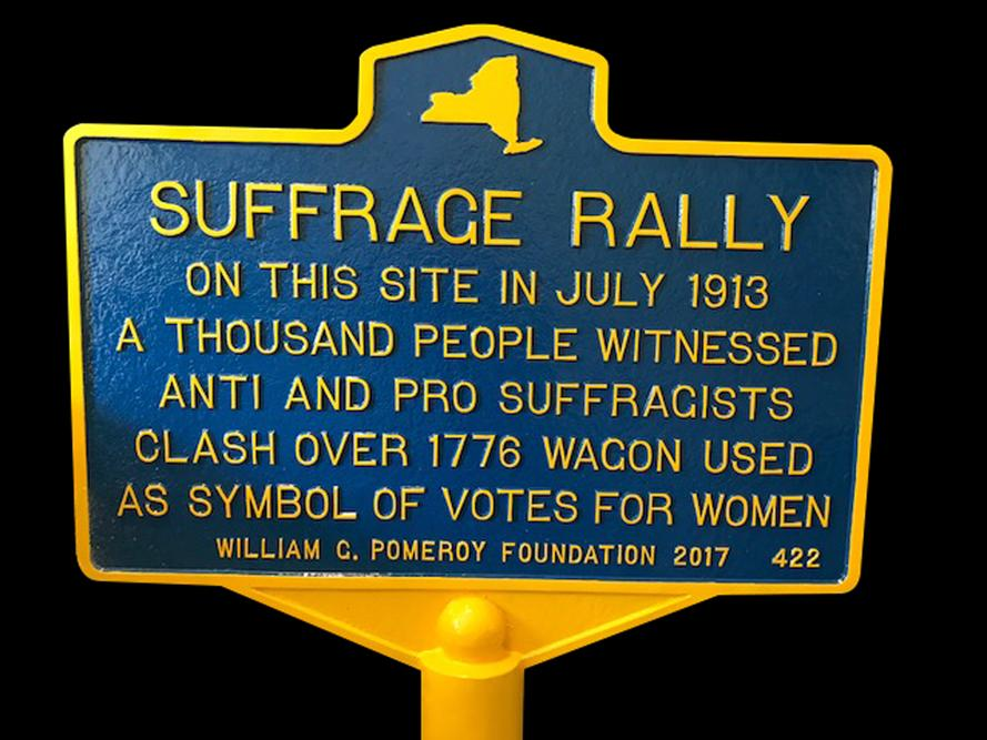 Suffrage Rally